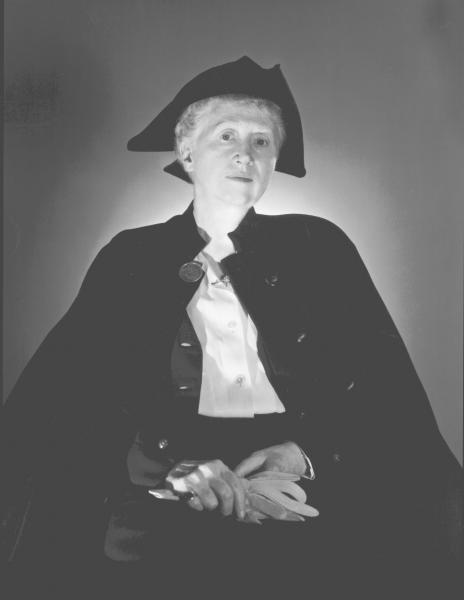 George Platt Lynes, Portrait of Marianne Moore. 1953. Collection of the Rosenbach [2006.6022]