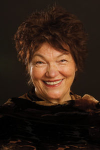 Author, actor, and director Tina Packer