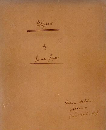 James Joyces Ulysses The Rosenbach