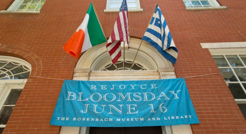Image result for bloomsday at the rosenbach