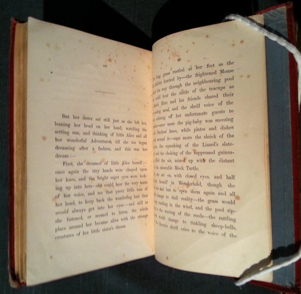 The End of Alice – The Rosenbach
