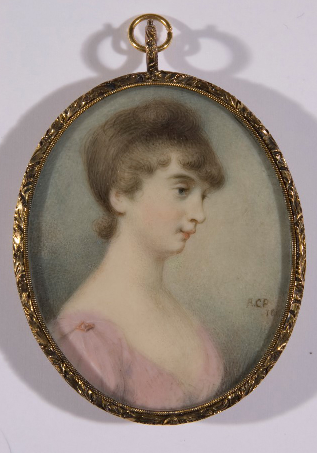 Miniature portrait by Anna Claypoole Peale