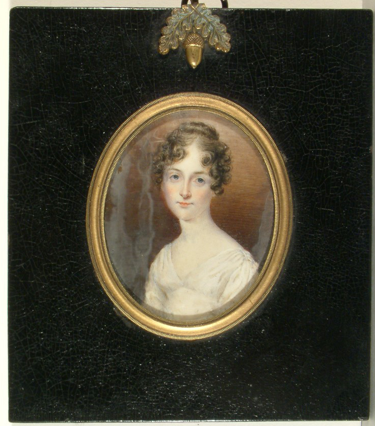 Julia Rush Williams painted by Anna Claypoole Peale