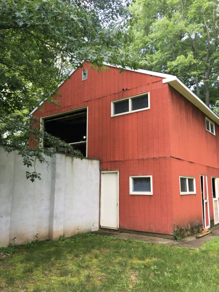 The barn in Bucks County